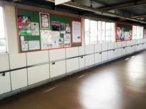 JR成田駅コンコースポスター掲載