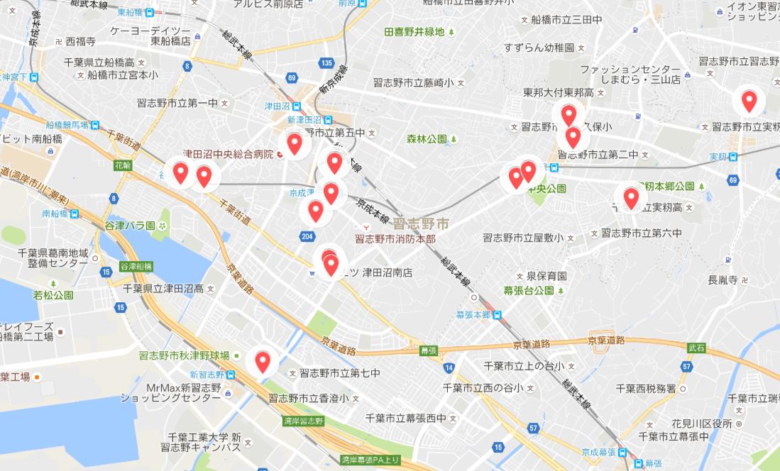 商圏マップ完成